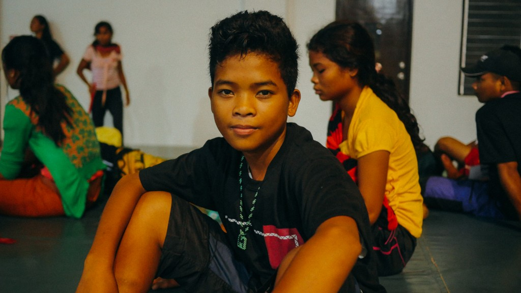 Marvin Hogsalan, 14: Shot at by the military. Photo by AlterMidya.