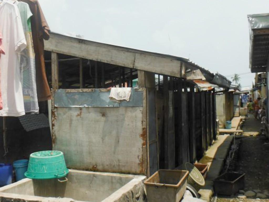IPI Bunkhouses sa Caibaan, Tacloban City. Larawan ng People Surge.