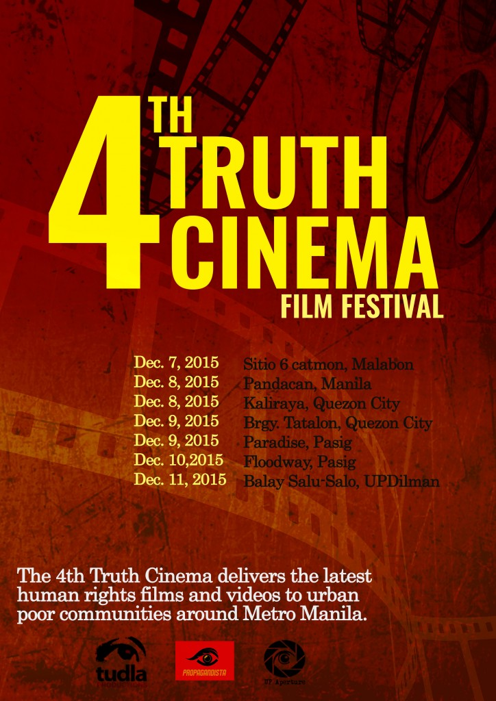 TRUTH CINEMA POSTER- 2nd