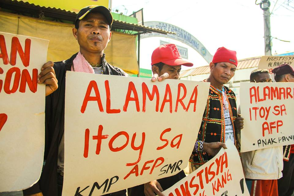 Paramilitary groups were created and are supported by the Armed Forces of the Philippines, the Lumad say. Photo by Kilab Multimedia.