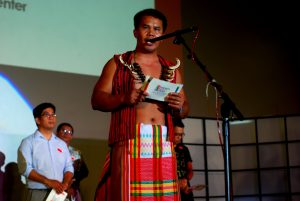 A Lumad leader calls on Duterte to end large-scale mining and enact policies that will protect the environment