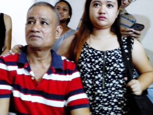 Former political prisoner and labor leader Isidro de Lima attends the Pilgrims for Peace forum