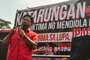 Veteran peasant leader Rafael Mariano is the incoming agrarian reform secretary. Photo by Manila Today.