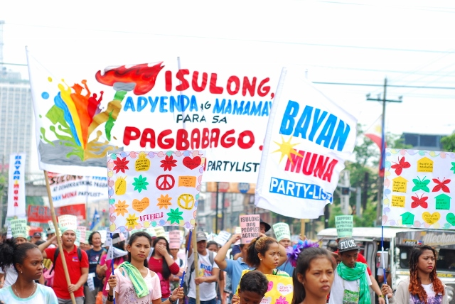 The rally presented the People's Agenda—concrete proposals submitted to the new administration.