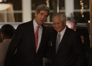US Secretary of State John F. Kerry in Manila. From Malacañang Photo Bureau